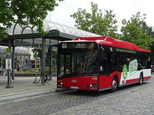 Bus der VAG Nürnberg