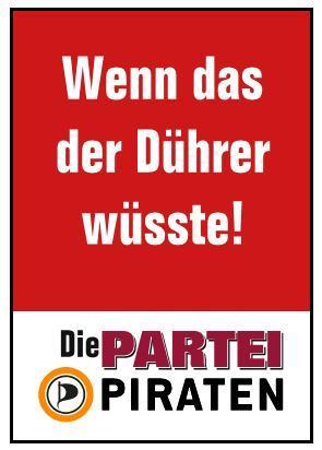 Die PARTEI/Piraten Nürnberg entern den Stadtrat!